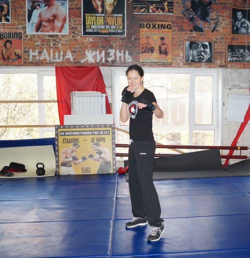 Инструктор по женской самообороне