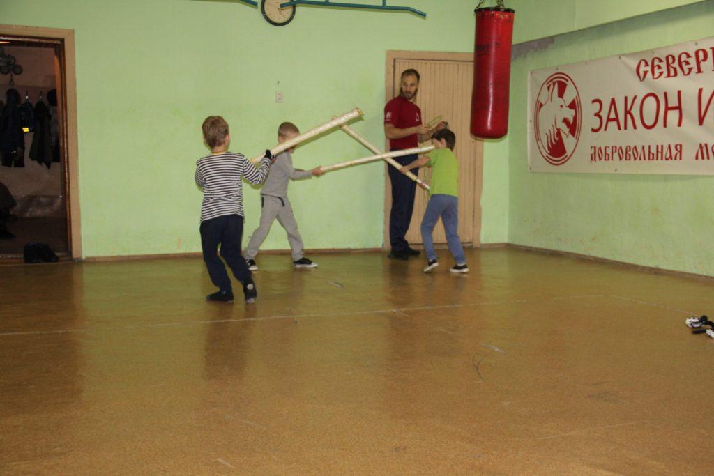 Самооборона для детей